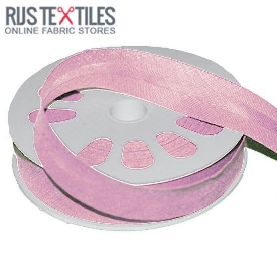 Cotton Bias Binding Pink 20mm