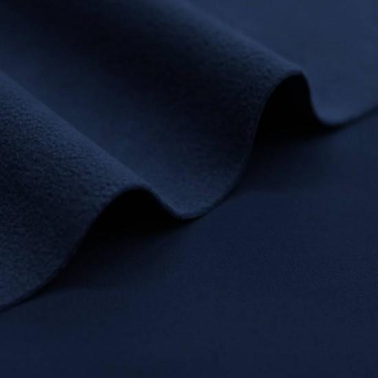 bb5c8f8b2f Tessuto Softshell Elastica Blu Scuro