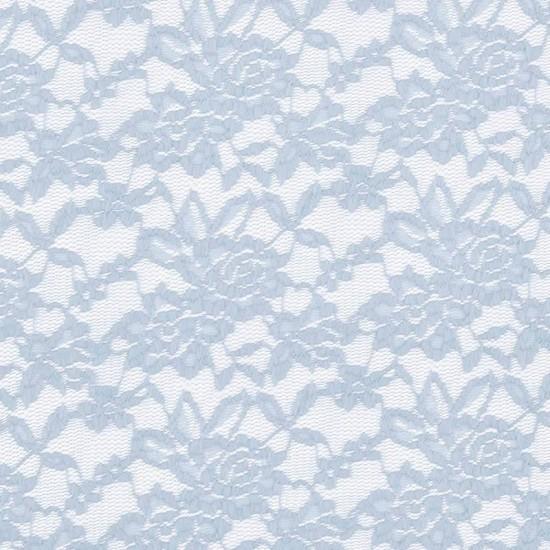 Spitzenstoff Stretch Hellblau