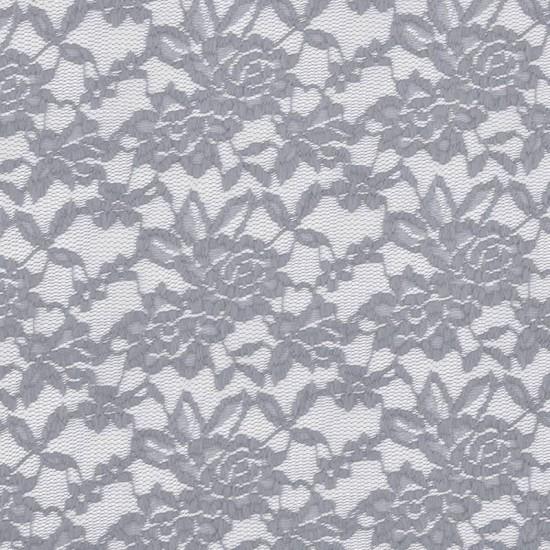 Lace Fabric Stretch Light Grey