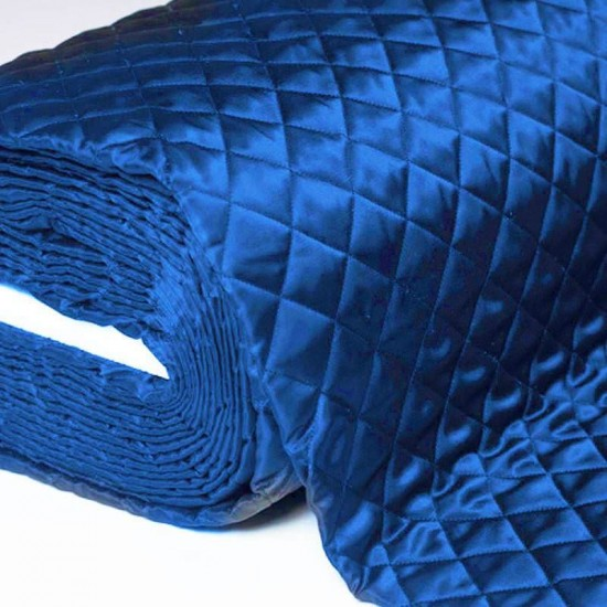 Lining Cobalt Quilted 5cm