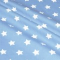 Stars On Cottton Fabric 20mm