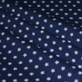 Stars On Cottton Fabric 9mm
