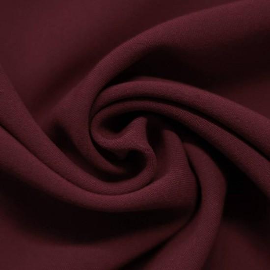 Stretch Gabardine Fabric Bordeaux