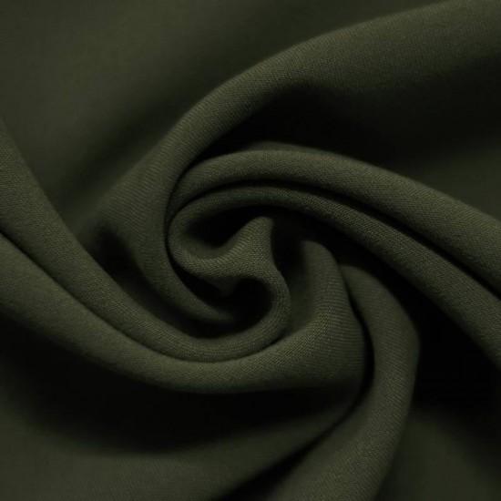 Stretch Gabardine Fabric Army Green