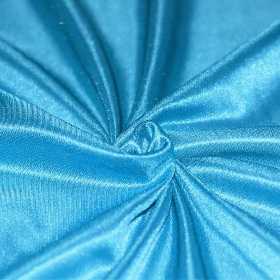 Stretch Lining Fabric Aqua