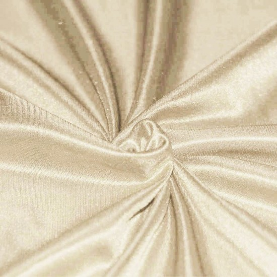 Stretch Lining Fabric Beige