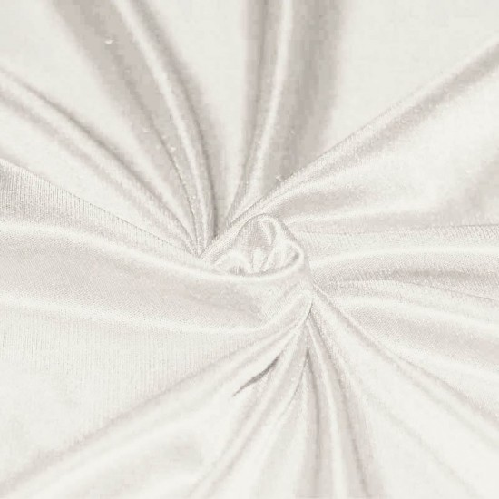 Stretch Lining Fabric Off White
