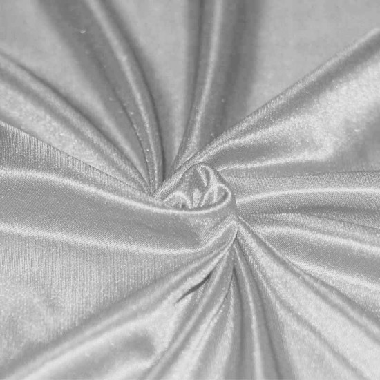 Stretch Lining Fabric Light Grey