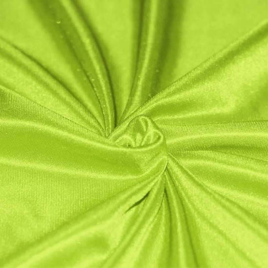 Stretch Lining Fabric Lime