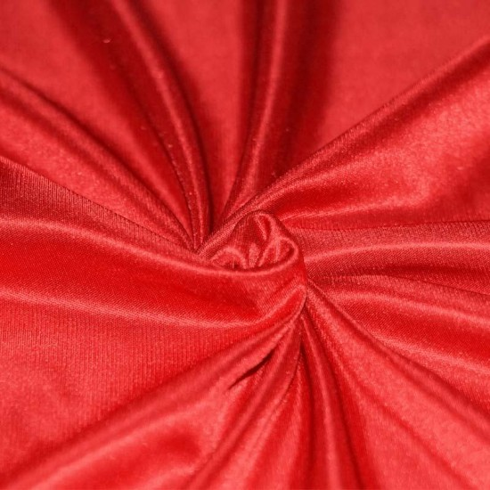 Stretch Lining Fabric Red
