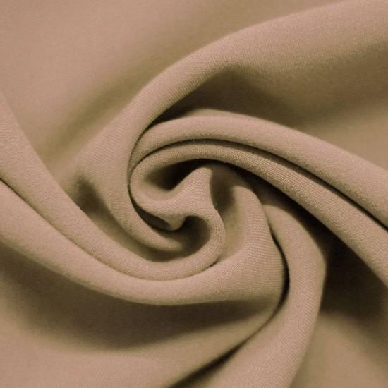 Stretch Gabardine Fabric Beige