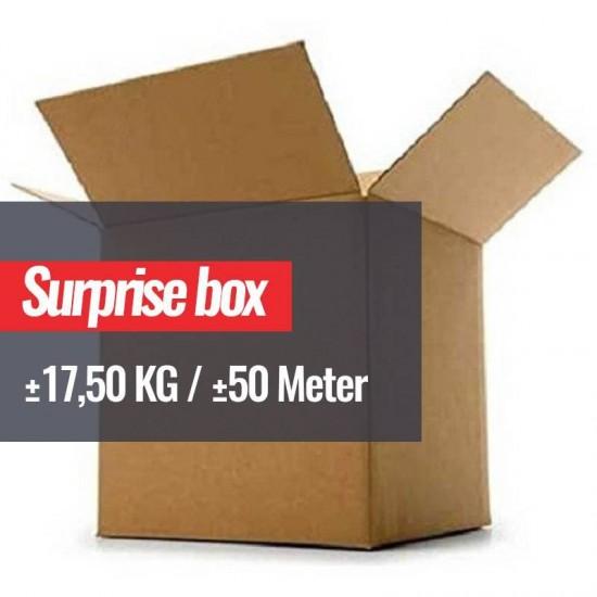 Fabric Surprise Box 17,5 KG (±50 Meter)