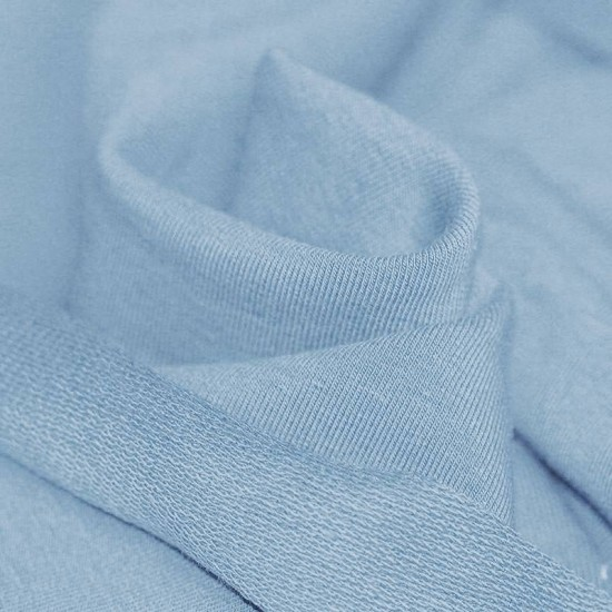 Sweat Fabric Light Blue