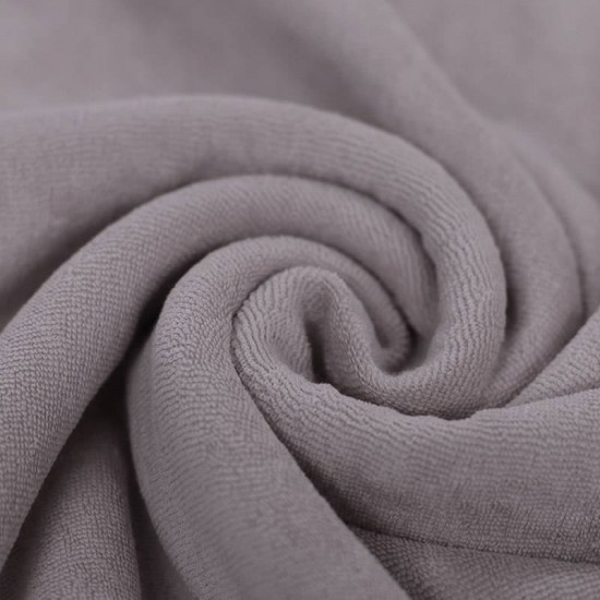 a69880872a8 Stretch toweling fabric grey from € 4.00 per meter
