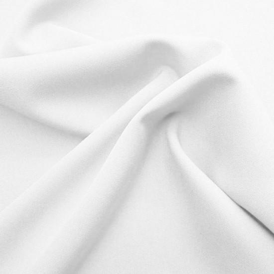 Power Stretch Stoff Weiß