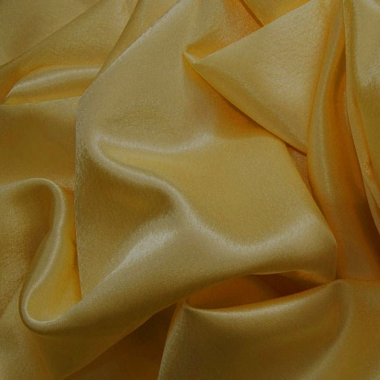Crepe Satin Dark Gold