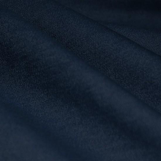 Denim Stretch Fabric Dark Navy