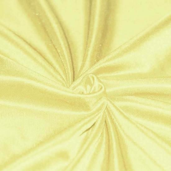 Stretch Lining Fabric Light Yellow