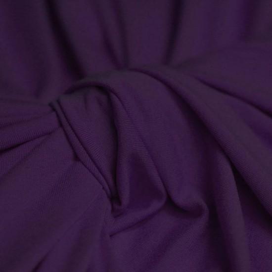 Viscose Jersey Dark Purple