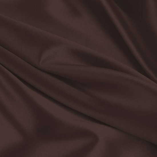 Lycra Fabric (Shiny) Brown