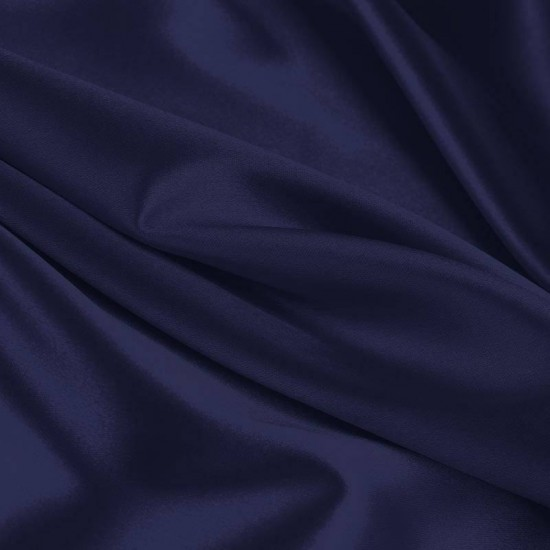 Lycra Fabric (Shiny) Navy