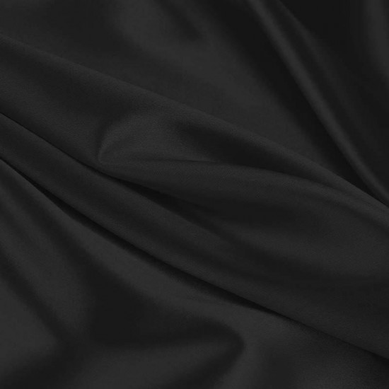 Lycra Fabric (Shiny) Black