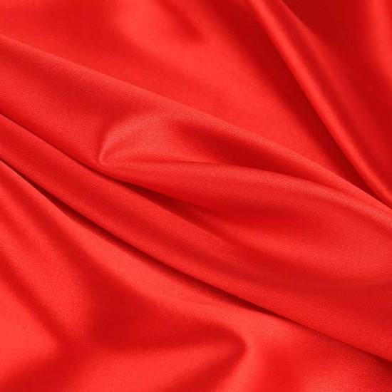 Lycra Fabric (Shiny) Red