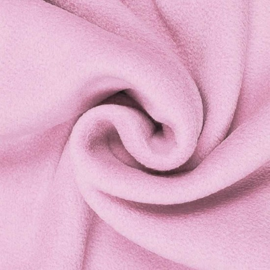 Polar Fleece Stof Roze