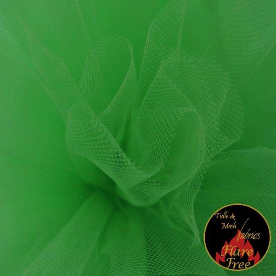 Tulle Fabric Fluor Green