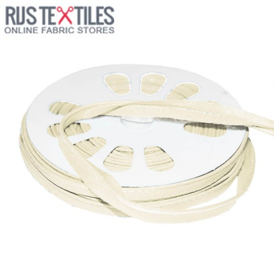 Cotton Piping Tape Off White 10mm