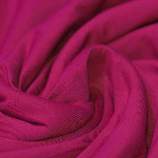 Cotton Jersey Knit Fabric Cardinal