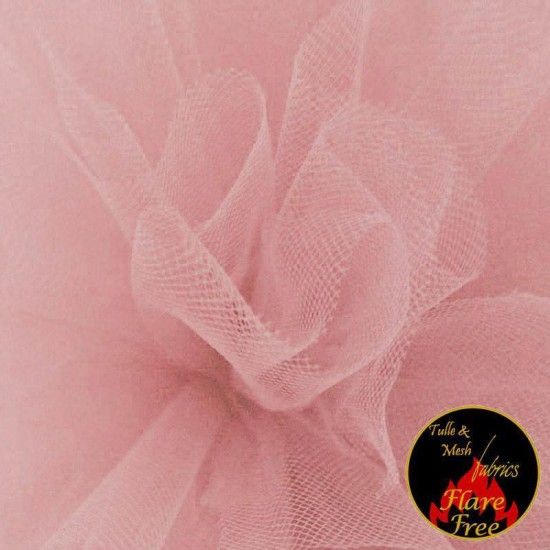 Tulle Fabric Old Pink