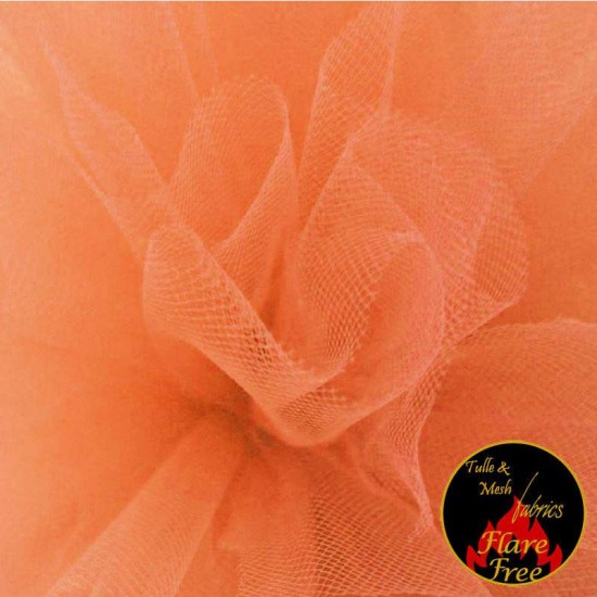 Tulle Fabric Apricot
