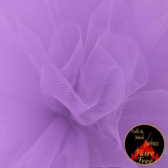 Tulle Fabric Lilac