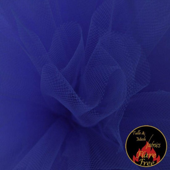 Tulle Fabric Royal Blue