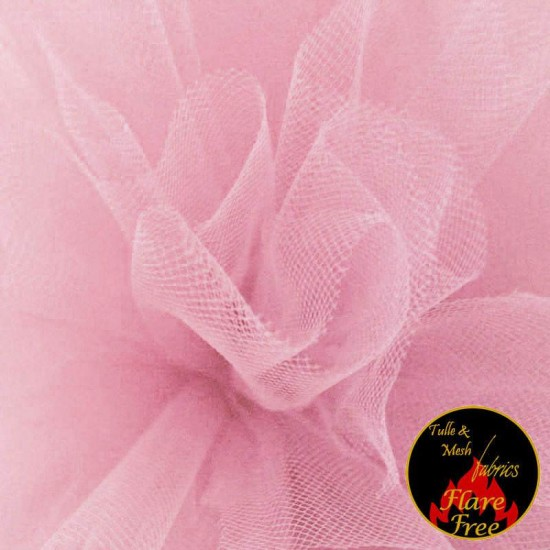 Tulle Fabric Baby Pink