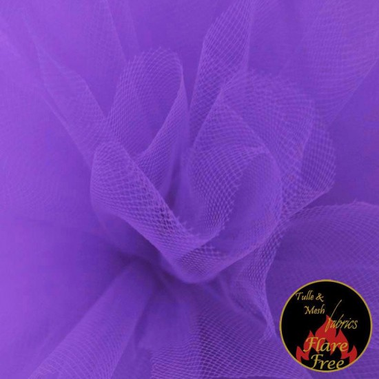 Tulle Fabric Royal Purple