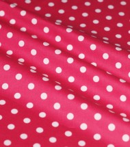 Polka Dot Fabric 7mm