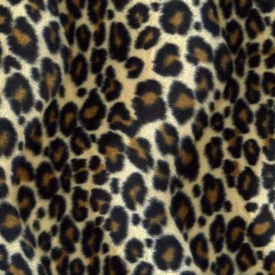 Velboa Fabric Jaguar Beige