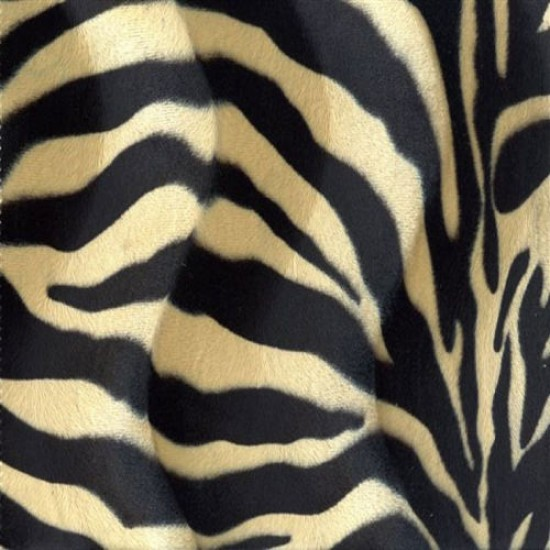 Velboa Zebra Beige