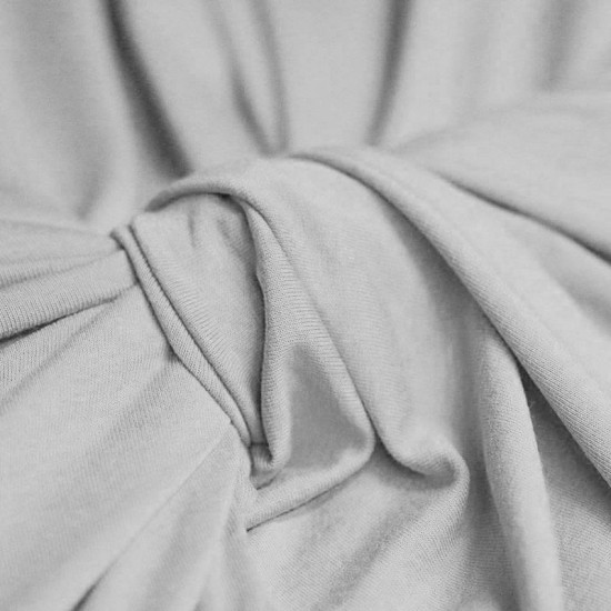 Viscose Jersey Light Grey