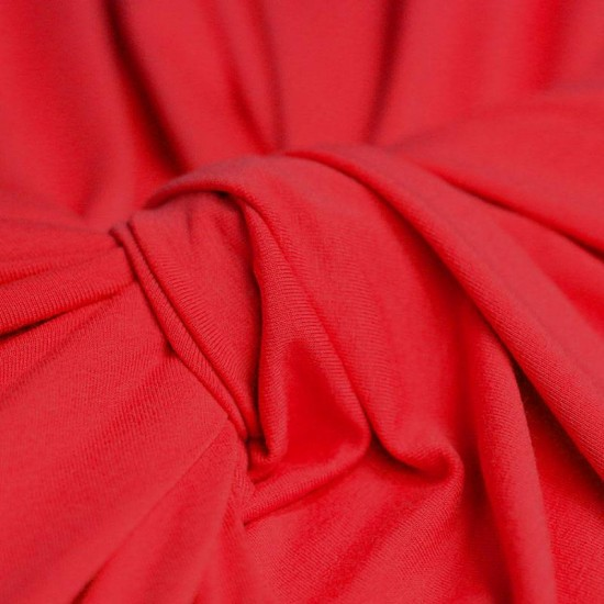 Viscose Jersey Red