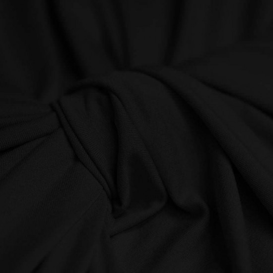 Viscose Jersey Black