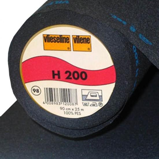 Vlieseline H200 Black (Per Meter)