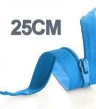 25CM Cerniera Lampo YKK In Plastica