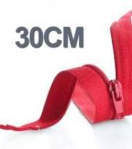 30CM Cerniera Lampo YKK In Plastica
