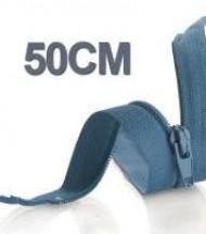 50CM Cerniera Lampo YKK In Plastica
