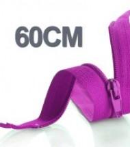 60CM Cerniera Lampo YKK In Plastica