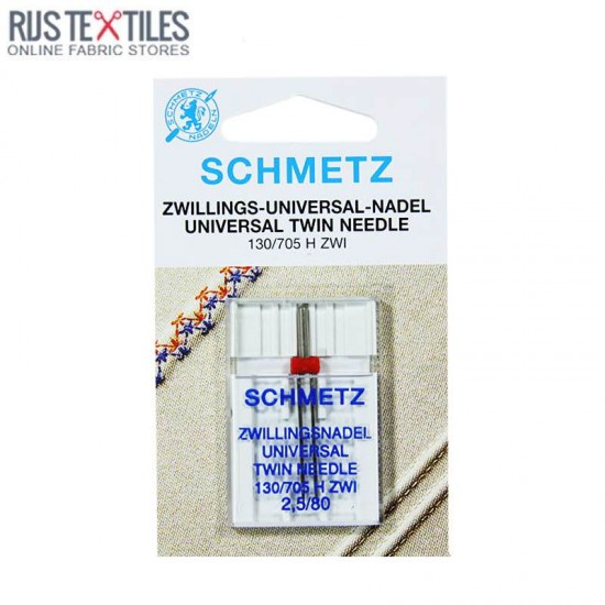 Schmetz Universal Twin Needle 2,5/80 (130/705 H ZWI)